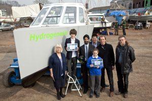 Hydrogenesis - hydrogen fuel cell boat